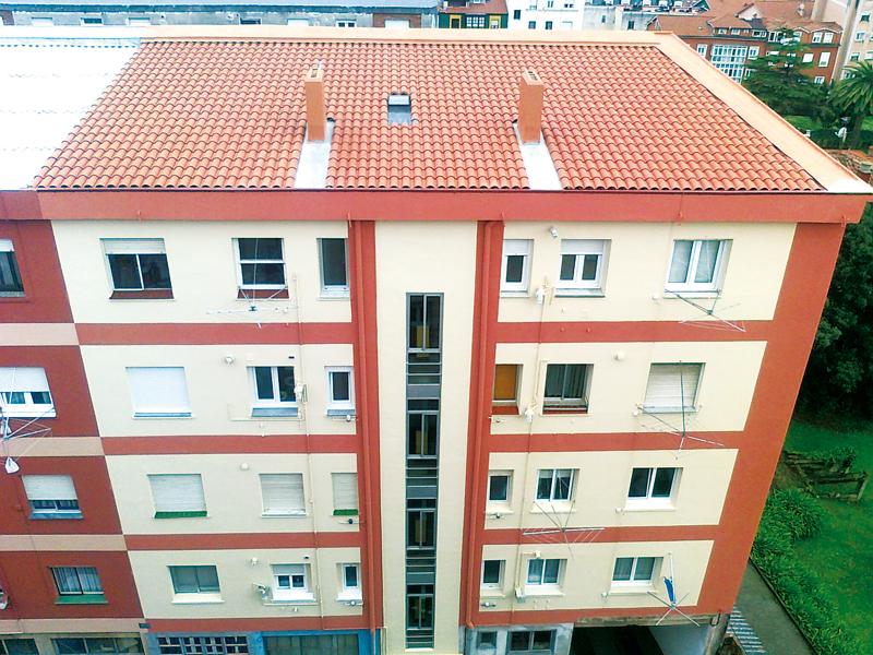 Cubiertas vegetales tejados y fachadas singulares - Cubiertas vegetales para tejados ...